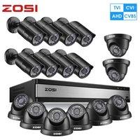 أنظمة ZOSI FULL HD 1080P 16CH التناظرية AHD CCTV نظام الأمن كاميرا في الهواء الطلق / داخلي مع 16 جهاز كمبيوتر شخصى مراقبة الفيديو dvr كيت 1