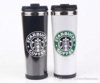 Starbucks Двойные стены из нержавеющей стали Кружки Гибкие Чашки / чашка кофе / чая / Кружки Путешествия Кружки / Чашки чая / вина Чашки 4 цвета