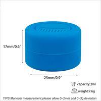Neue Einzelteile !! 3ML Ölbehälter 3ml Antihaft- Silikon Gläser dab Wachs Silikonbehälter für dabs Silikon Behälter