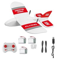 KF606 EPP Foam Glider RC Airplane Flying Aircraft 2. 4Ghz 15 ...