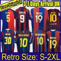 1991 1899 1992 1996 1997 1998 2004 2005 2007 2007 2009 2009 2010 2012 Retro Soccer Jersey Ronaldinho Xavi Fotbollskjorta