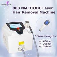 2021 808NM Máquina de depilación láser de diodo sin dolor de depilación láser cuidado de la piel tratamiento con láser 2 años de garantía