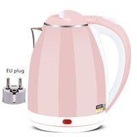 Travel Kettle Electric Kettle Stainless Steel Cordless Portable 1500W-2000W Heating Electric Water Boiler Teapot Pot Sonifer