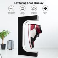 Manyetik Levitating Ayakkabı Ekran 360 Derece Rotasyon Yüzer Sneaker Standı