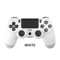 Wireless Bluetooth Gamepad Joystick Game console accessory Touch Function Shock handle Speakers Headphone Jack For PS4 PC controller