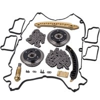 Camshaft Adjuster Timing Chain Kit Valve Cover Gasket For Me...