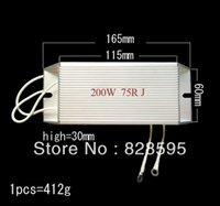Подушка / декоративная подушка 200 Вт 75 100 200 500 10 6 80 50 30 4 Ом Оригинальная алюминиевая проволочная проволочная устойчивость к рану тормозной резистор +/- 5% (CUS