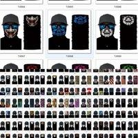 Sport Masken Hals Gaiter Schild Schal Bandana Gesichtsmaske Nahtlose UV-Schutz für Motorrad Radfahren Reiten Laufbänder 8 NWC6Z