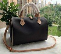 Sıcak Satış Kadın haberci çanta Klasik Stil Moda çanta kadın çantası omuz çantaları Lady Totes Speedy 30cm Toz Bag handbags