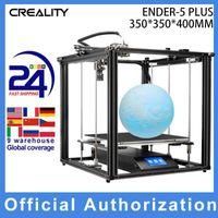 Creality 3D Ender-5 Plus طابعة 3D 350 * 350 * 400mm حجم بناء كبير مع 4.3 بوصة تعمل باللمس شاشة تعمل باللمس قابل للإزالة