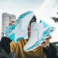 Ywygmz Прибытие Бренд Мужчины Ботинки Большой Размер Новая Мода Классические Обувь Мужчины Кроссовки Дышащие Zapatillas Повседневная Высокие Вершины Лодыжки # NJ9X