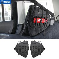 MOPAI Car Side Door Anti-Roll Storage Bag Stowing Tidying for Wrangler JL 2020+ Interior Accessories Car Styling