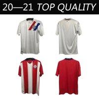 2020 2021 Paraguay Soccer Jerseys المنتخب الوطني Home Away Romero Ayala Lezcano González Sanabria 20 21 قميص كرة القدم