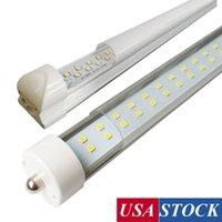 45W / 72W / 144W LED 8FT 튜브 전구, FA8 / R17D 단일 핀, T8, AC85V-277V