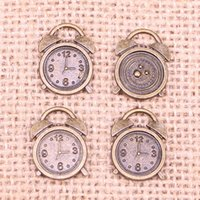 106 шт. Ювелирные часы Часы 17x13 мм Античная Бронзовые покрытые подвески Делают DIY Handmade Tibetan Бронзовые украшения