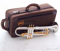 جودة bach البوق الأصلي الفضة مطلي الذهب الرئيسية LT180S-72 شقة BB المهنية البوق جرس أعلى الآلات الموسيقية النحاس