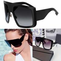 여자 디자이너 선글라스 프레임 : 블랙 렌즈 : 졸업 된 회색 솔게 1 선글라스 패션 쇼핑 스타일 UV400 선글라스 원래 상자