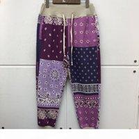 2020FW Kapital Woman Sweatpants Streetwear Tessuto pesante Joggers Pantaloni con coulisse Pantaloni anacardio Anacardio Pantaloni da uomo Abbigliamento
