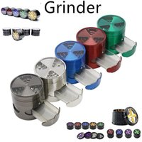 Tobacco Smoking Herb Grinders Four Layers 100% Metal dia 63 ...
