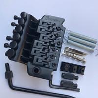 Ibanez Double Shake Guitar Electric Pull String Plate Place Bridge 6 String Tremolo System Hardware nero Spedizione gratuita ..