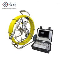 sewer pipe inspection camera 360 degree rotation AHD with 60...