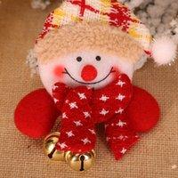 عيد الميلاد شارة LED عيد الميلاد الزينة ثلج بروش عيد الميلاد وسام الأطفال زينة بروش شارة زينة 300pcsT1I2676