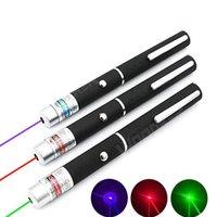 Pointeur laser vert rouge vert 5MW Lasers de puissance de haute puissance lumière Porte-mètre de la lazer puissant 530nm 405nm 650nm l qylrnw
