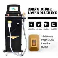 Lazer Alma Laser 808nm Diodenlaser-Sopran-Titan-Laser für schnelle und dauerhafte Haarentfernung Hautverjüngung