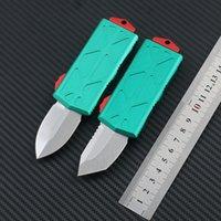 Microtech Bounty Hunter Exoect Tanto Coltello automatico T6-6061 Lega in lega di alluminio Coltello tattico Sopravvivenza nei coltelli da tasca Wild EDC Coltelli da tasca