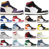 2021 JD uno Jumpman 1s di pallacanestro scarpe per le donne gli uomini Banned Crimson tinta verde turbo Tie-Dye Sport Sneakers Gioco Reale Mens Trainers 36-46