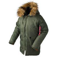 긴 캐나다 코트 군사 모피 후드 따뜻한 트렌치 위장 전술 폭격기 군대 한국어 파카 C1021 2020 겨울 N3B 호흡기 재킷 남성