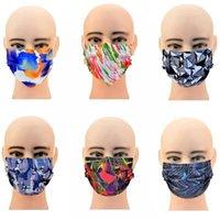 Fabrika Fiyat Tahıl Kamuflaj FactoryZoyxGretail Paketi Yetişkin Leopar Dantel Maske Renkli Tek Kullanımlık Yüz Maskeleri WOVE Olmayan