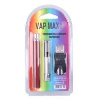 VPH original Max W3 Kit 350MAH Vertex Préchauffez la batterie de tension variable VV 0.5 / 1.0ml 510 Tanks de cartouche de verre Charger USB Vape