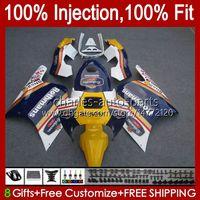 Injektion für Honda NSR250R MC28 PGM4 94 95 96 97 98 99 102HC 0 NSR 250 R 250R NSR250 R 1994 1995 1997 1998 1999 Verkleidung Rothmans Blue