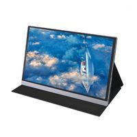 شاشات المحمولة 15.6 بوصة 4K شاشة LCD 47٪ NSTC 16.7 مليون ألوان مراقبة الألعاب عرض لوحة IPS لوحة استجابة سريعة