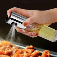 BBQ Cozinhar Vidro Oil Pulverizador aço inoxidável spray de óleo Frasco do pulverizador pode frasco Pot Cozinha Ferramenta tempero bottleT2I51583