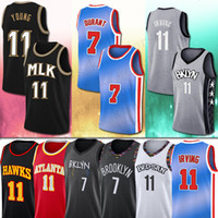 Durant 2020 Kevin Jersey Irving Young Durant Kyrie 11 Trae De'Andre Men Hunter Kids Basketball Jerseys