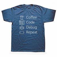 Lustig Ich kann nicht ruhig bleiben. Ich debuggen t-shirts männer sommer kurzarm o-neck baumwolle kaffeecode programmer t-shirt unisex1