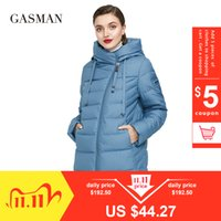 GASMAN Long Puffer Winter Down Jacket Women Thick Coat Women Hooded Parka Warm Female Brand Cotton Clothes Winter Plus Size 6XL 201106