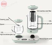 Multifunzione 220V bollitore elettrico Salute Preservare Pot tè e caffè isolamento supplementare bollitore termostatica Scaldatazze 0.6L