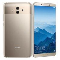 """원래 Huawei Mate 10 4G LTE 휴대 전화 6GB RAM 128GB ROM Kirin 970 Octa Core Android 5.9 """"2K 스크린 20MP NFC 지문 ID 휴대 전화"""