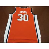 C2604 604 Jugendfrauenweinlese # 30 Billy Owens Washington Syrakus 1991 Basketball-Jersey Größe S-4XL oder C2604 Jeder Name oder Nummer Jersey