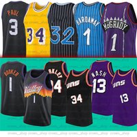 1 Devin 3 Chris Booker Jersey Paul Barkley 13 Steve 34 Charles Tim Nash 1 Hardaway Männer Basketball-Trikots