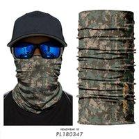 Cappellini da ciclismo Maschere 3D Camouflage Bandana Tactical Hunting Mask Maschera Maschera Mascarilla Hombre Kryptik Digital Camo BALACLAVA Fascia da tifone