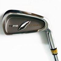 Nuevos clubes de golf Forged TC-710 Golf Irons Set 3-9p (8pcs) Forged Golf Iron R / S Flex Shaft con la cubierta