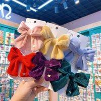 Kinder Samt Schmetterling Haarnadeln Baby Mädchen Accessoires Haar Clip Nette Kinder Styling Werkzeuge BB Clip Ins Kopfschmuck