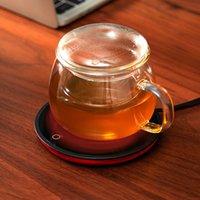 Новый Чашку кофе грелки для домашнего офиса Молоко Чай Вода грелку 2 с постоянной температур Дополнительное Автоматическая- Лучший подарок Идея Free