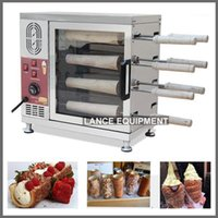 Ekmek Makineleri Baca Kek Yapma Makinesi Trdelnik Makinesi / Dondurma Koni Makinesi1