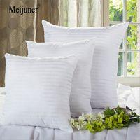 MEIJUNER SQUARE Coussin blanc Coussin d'oreiller Insert intérieur PP Soft PP Coton pour la décoration de la maison Chaise de canapé Tête Coussin Coussin Coussin Coussin Coussin 201026