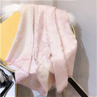 Venta caliente Seda bufanda moda hombre mujer 4 estaciones chal bufanda bufandas Tamaño de 180x70cm 6 color